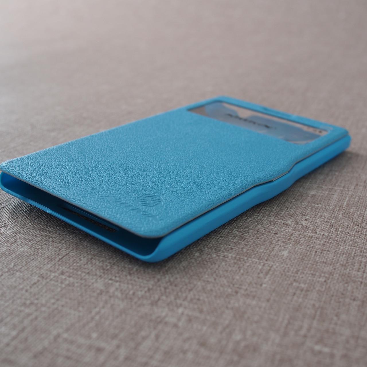 Чехлы для других смартфонов Nillkin Fresh Lenovo K910 light-blue Для телефона