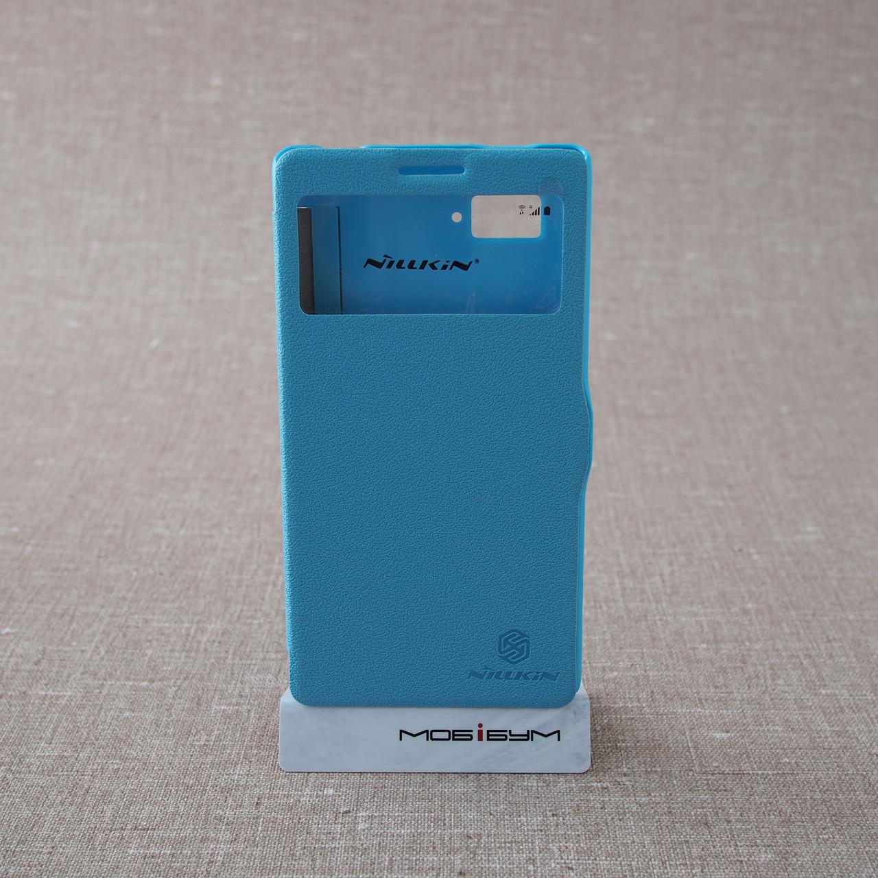 Чехол Nillkin Fresh Lenovo K910 light-blue EAN/UPC: 6956473272595