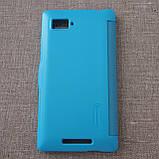 Чехол Nillkin Fresh Lenovo K910 light-blue EAN/UPC: 6956473272595, фото 6