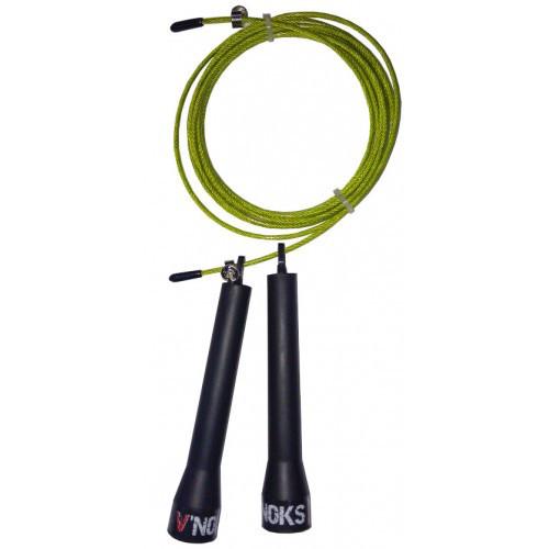 Скакалка для кроссфита V'Noks Steel жовта
