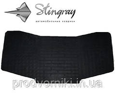 Коврики на Chevrolet Spark M300 2009- Коврик перемычка / накладка между задними коврами Черный в салон