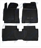 Резиновые коврики Avto- Gumm для Volkswagen Transporter T5 1+1 2010 - комплект 4 шт.