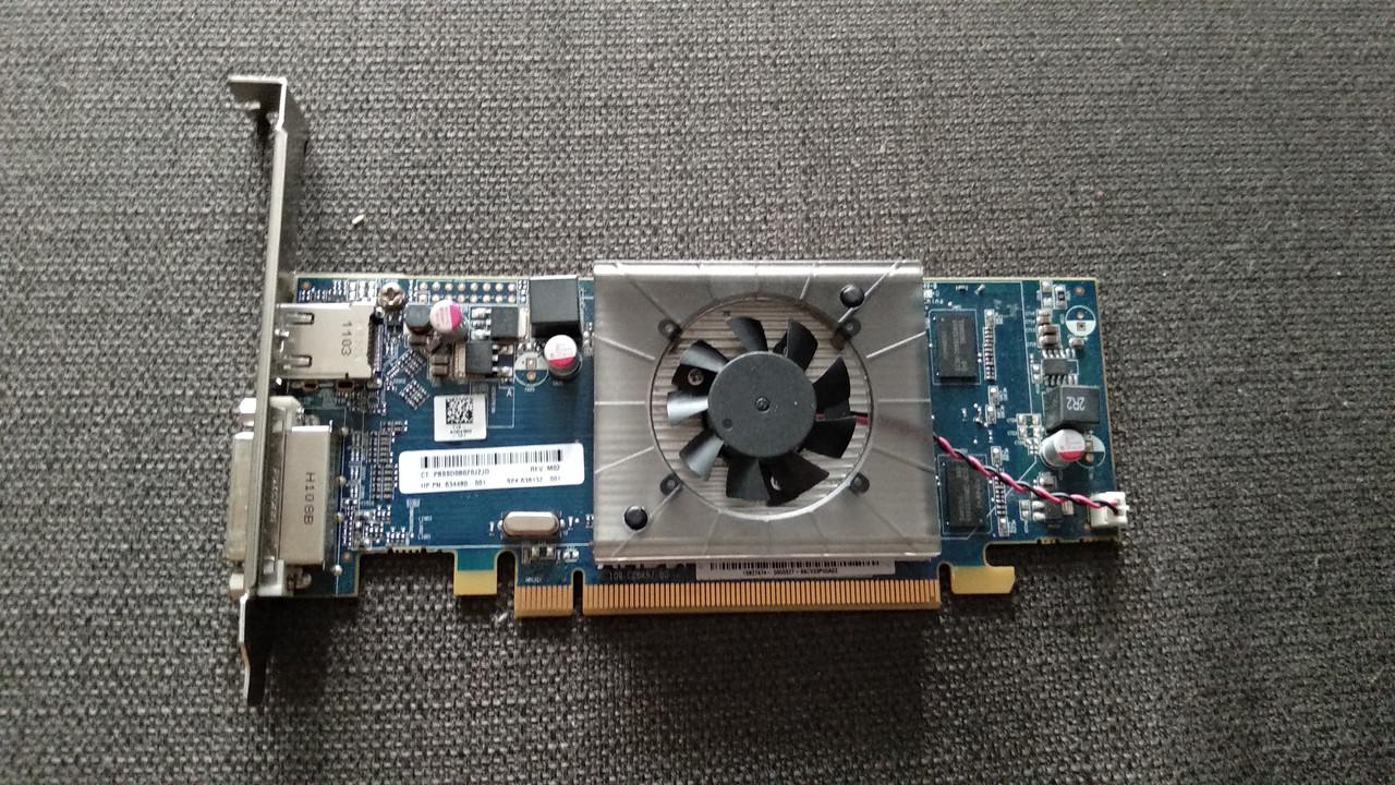 ВИДЕОКАРТА Pci-E RADEON HD6450 на 1GB c HDMI и ГАРАНТИЕЙ ( видеоадаптер HD 6450 1 GB DDR3 ) c HDMI и ГАРАНТИЕЙ