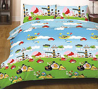 """Детское постельное белье """"Gold"""" Angry Birds"""