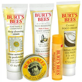 Подарунковий набір натуральної косметики для догляду за обличчям і тілом Burt's Bees Essential Gift Set