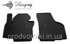 Коврики на SsangYong Rexton W 2013- Комплект из 2-х ковриков Черный в салон