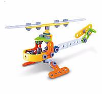 Конструктор BUILD&PLAY набор  для конструирования и моделирования игрушечного вертолета 78 эл. (SUN1513)