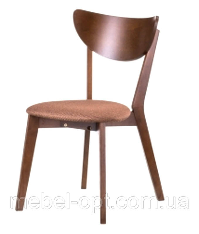 Деревянный стул C-616 Модерн дизайнерская мебель, цвет орех лесной, Заказ от 2 штук