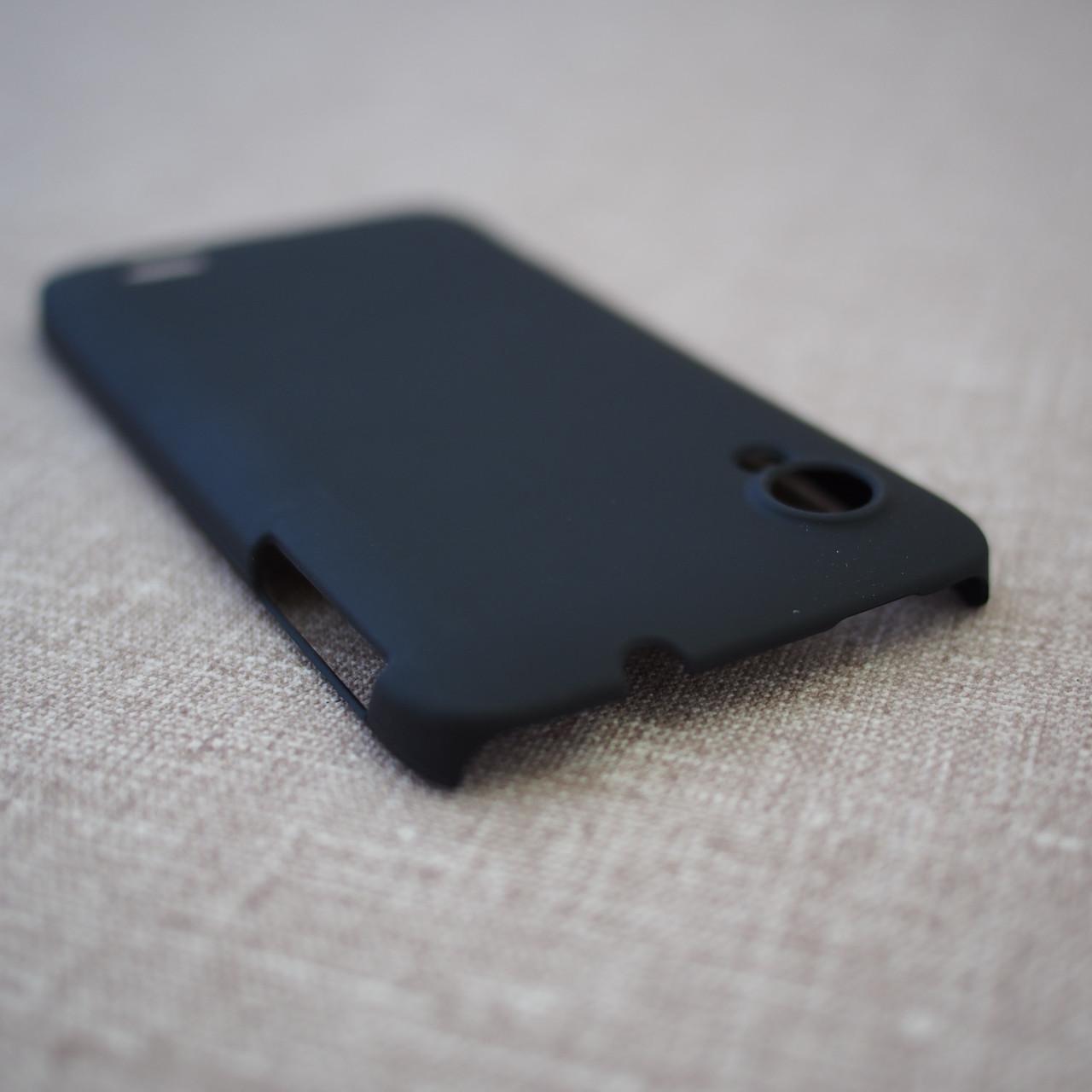 Накладка Lenovo S720 black Для телефона Черный