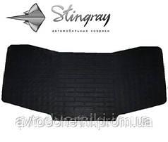 Коврики на Toyota Camry V50 2011- Коврик перемычка / накладка между задними коврами Черный в салон