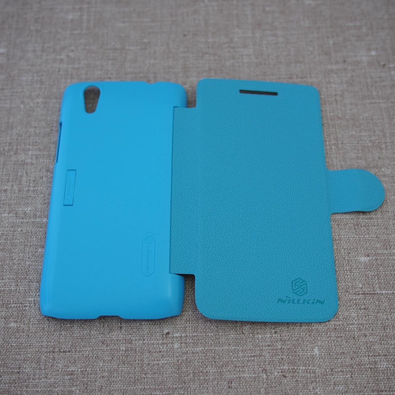 Чехол Nillkin Fresh Lenovo S960 light-blue