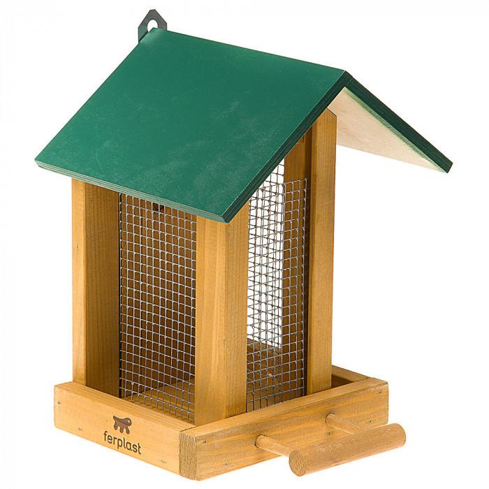 Деревянная кормушка для птиц Ferplast FEEDER 9