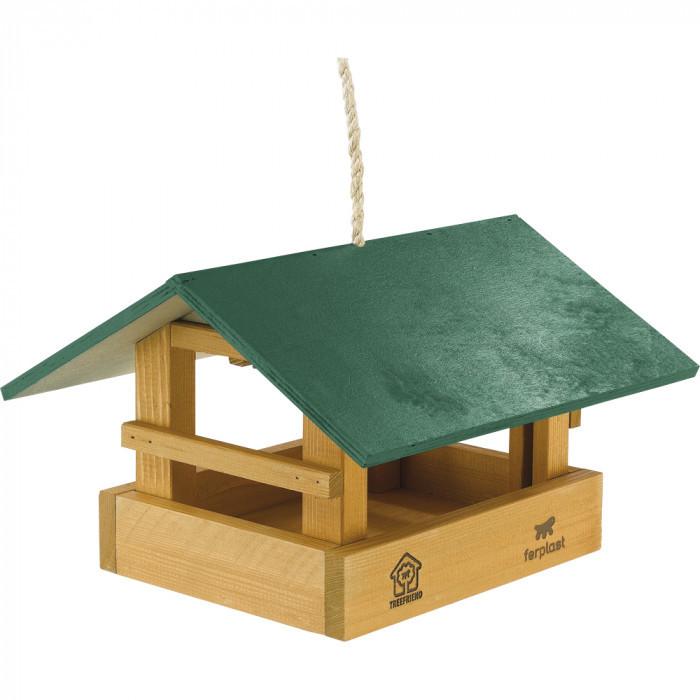 Деревянная кормушка для птиц Ferplast FEEDER 10