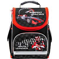 "Рюкзак школьный каркасный Kite ""трансформер"" Speed racer K18-500S-1"