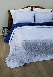 Покрывало Lotus Broadway - Sheen голубой 150*220