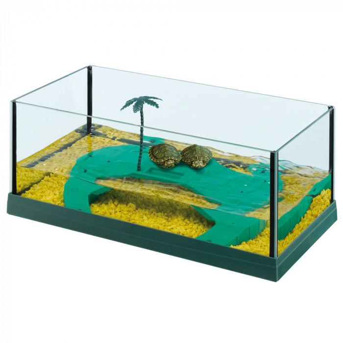Террариум для черепах HAITI 40 р. 41,5 x 21,5 x h 16 cm