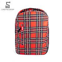 Рюкзак Punch Buzz tartan красный, фото 1