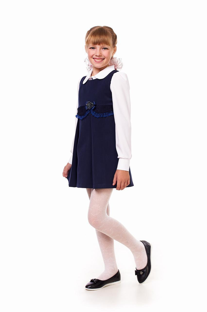 Школьный сарафан для девочки 51001