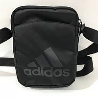 Сумка спортивная мужская Adidas / черная, фото 1