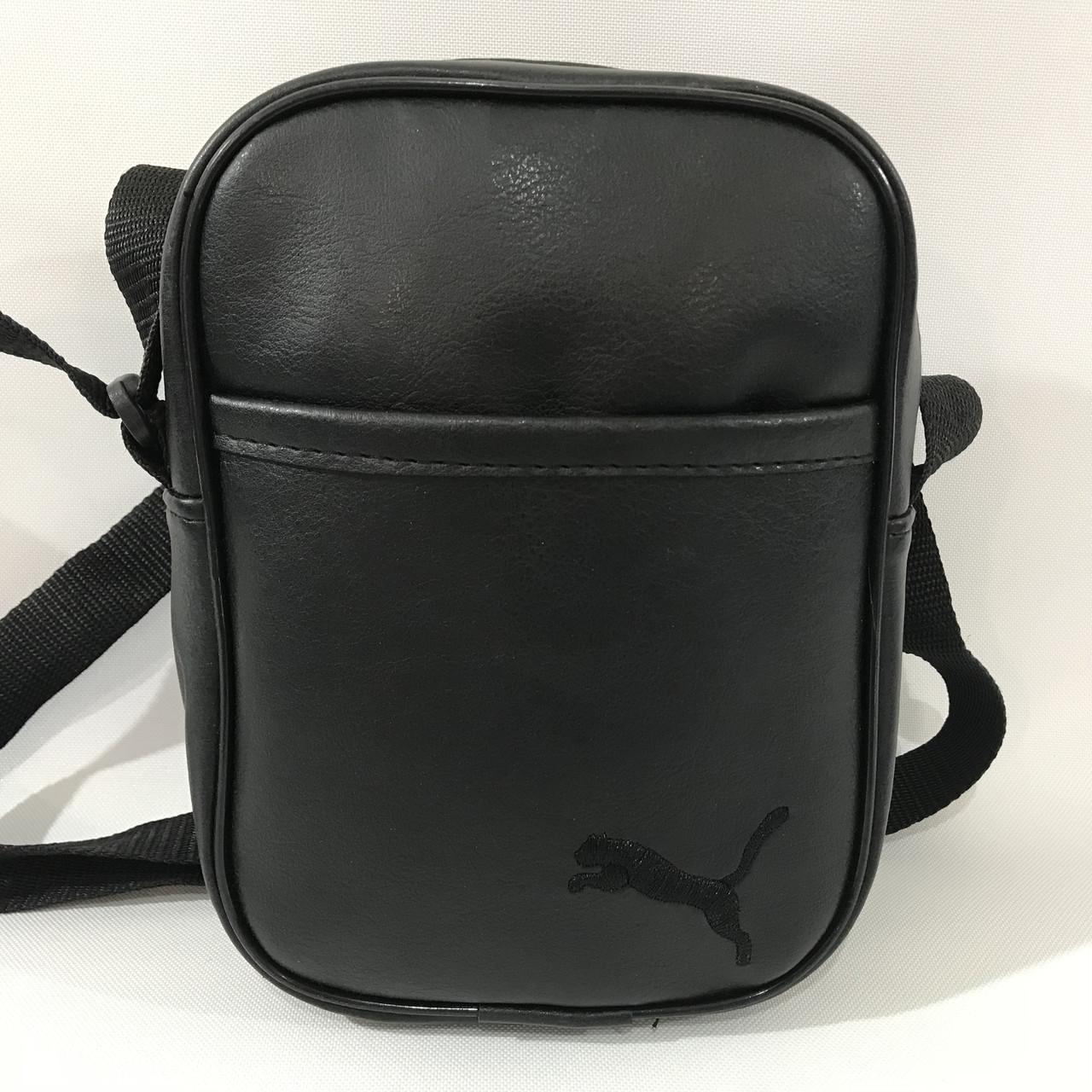 Сумка спортивная мужская Puma / черная