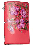 Блокнот ручной работы Сиреневые цветы (S063FL)