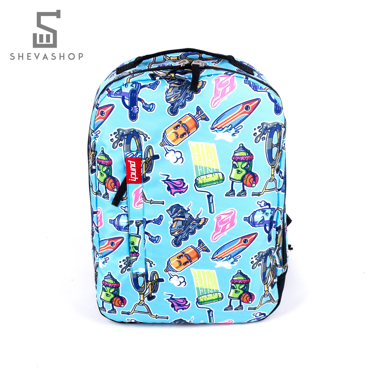 Рюкзак Punch Buzz XZM голубой