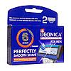 Картриджи   Deonica for men 6 лезвий Максимальная защита  2 шт в упаковке производство США