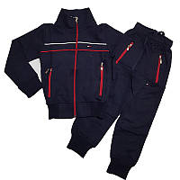 Спортивный костюм для мальчика 104-128 т.синий, арт.4032