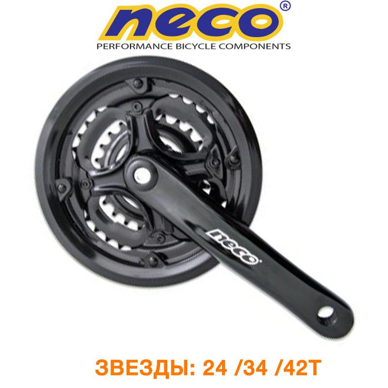 Шатуны Neco ALU с защитой 42Т (MKO306)