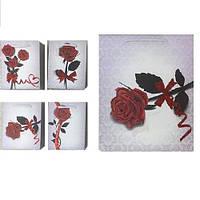 """Пакет бумажный подарочный """"Роза"""" 32*26*12см C25256-1 (384шт)"""