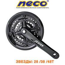 Шатуны Neco ALU с защитой 48Т (MKO318)