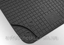 Коврики на Volkswagen Jetta 2011- Комплект из 2-х ковриков Черный в салон, фото 2