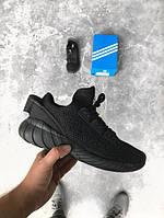 Мужские кроссовки AdidasTubular Doom Sock Black, Копия