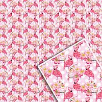 Подарочная упаковочная бумага УП - Цветочная №107