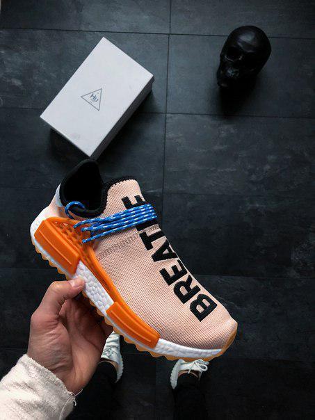 """Мужские кроссовки Adidas Human Race NMD x Pharrell Williams """"Pale Nude"""",  Копия 70316976d5b"""