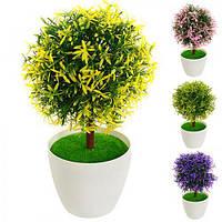Искусственные цветы в горшке 29см R82239 (72шт)