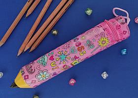 Пенал Пластм. Олівець S-1629 Принцеси