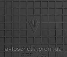Коврики на VOLKSWAGEN Vento 1992- Водительский коврик Черный в салон, фото 2