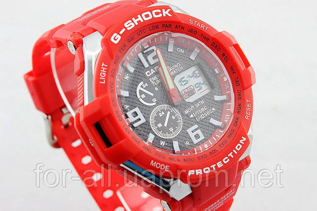 Копия часов Casio G-SHOCK GW-4000 Red CA1835