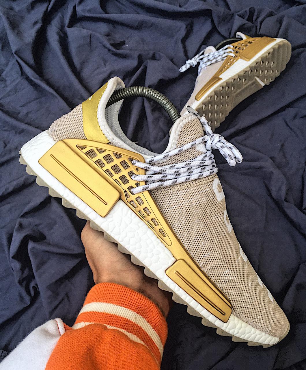 Мужские кроссовки Adidas Pharrell Williams NMD Human Race топ реплика 99a10a9fc11
