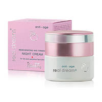 Восстанавливающий и укрепляющий кожу ночной крем для сухой и чувствительной кожи лица