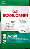 Royal Canin mini adult сухой корм для взрослых собак малых пород старше 10 месяцев - 2 кг
