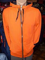 Кофта мужская оранжевая