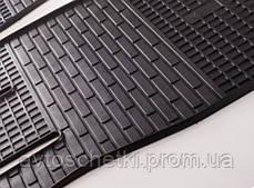 Коврики на Fiat Fiorino III 2008- Комплект из 4-х ковриков Черный в салон, фото 3