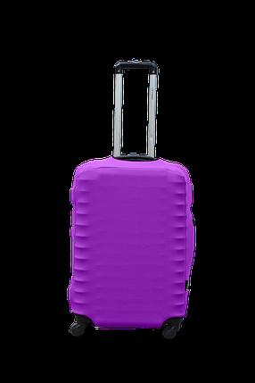 Чехол для чемодана Coverbag из дайвинга M (сирень), фото 2