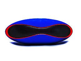 Bluetooth колонка Speaker Mini X-6 Cиняя (hub_hJPj00004)