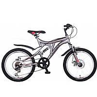 """Велосипед горный Crosser Smart-1 20"""" детский черный"""