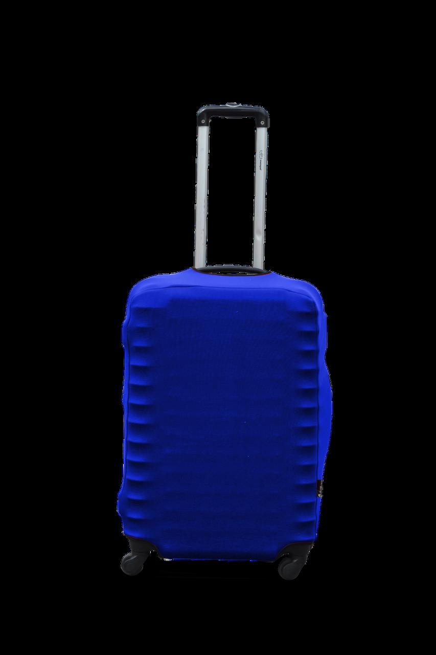 Чехол для чемодана Coverbag из дайвинга M (электрик)