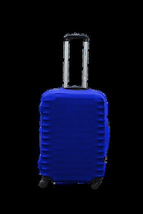 Чехол для чемодана Coverbag из дайвинга M (электрик), фото 2