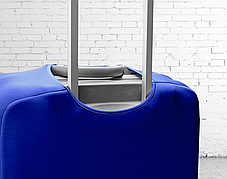 Чехол для чемодана Coverbag из дайвинга M (электрик), фото 3
